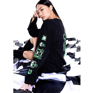 snake long sleeve_black